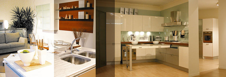 Arredamento interni per privati negozi spazi espositivi for Arredamento interni